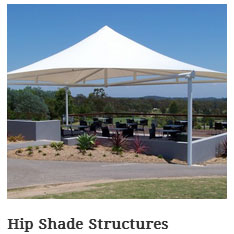 Hip & Ridge Shade Structures