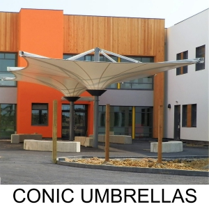 CONIC UMBRELLAS